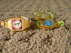Vintage Children's Toy Watches from the 1950's ...