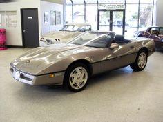 1989 Gray Metallic Corvette - 225 units