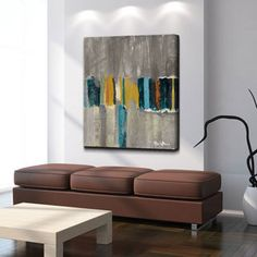 Shop for Ready2HangArt 'Smash VII' Oversized Canvas Wall Art. Get free delivery at Overstock.com - Your Online Art Gallery…