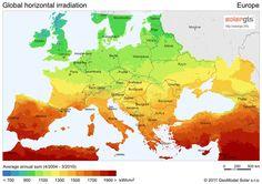 Sustentabilidade Energética Solar Termosolar e Eólica : Energia Solar na Alemanha