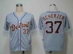 http://www.xjersey.com/tigers-37-scherzer-grey-jerseys.html Only$34.00 TIGERS 37 SCHERZER GREY JERSEYS #Free #Shipping!