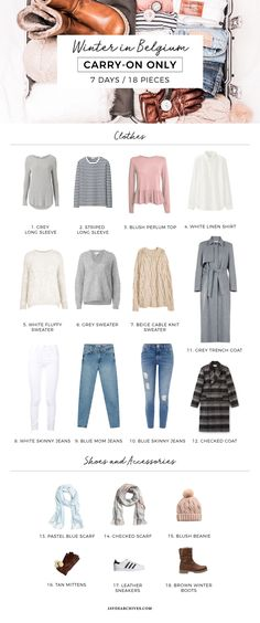 Travel Capsule Wardrobe for Belgium | Jayde Archives