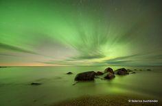 Aurora Borealis - Traverse Bay, Lake Winnipeg, Manitoba, Canada