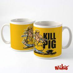 Taza Kill pig