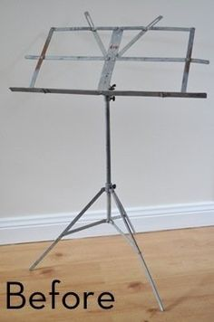 How to Turn a Music Stand into a Lamp