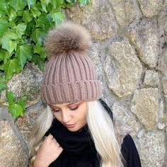 www.customvintagedublin.com Pom Pom Hat, Beanies, Knitted Hats, Knitting, Fashion, Knit Hats, Beanie Hats, Tricot, Fashion Styles