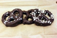 Chocolate Covered Pretzel Recipe from the official MySpiceSage Blog! Most classically trained pastry chefs learn how to temper chocolate using a marble slab to get it to just the right temperature, for optimal fat distribution, to provide perfect snap and shine when it dries. However, this is not essential to obtain perfectly tempered chocolate.  If you follow this recipe, you can learn how to coat pretzels just as a well as a master chocolatier!