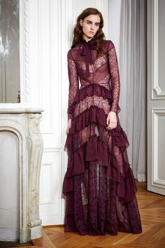 Zuhair Murad   Pre- Fall/Winter 2016 Ready-To-Wear Collection   Modeled by ?   January 25, 2016