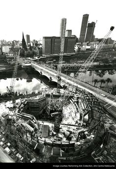 Arts Centre Construction - 1980