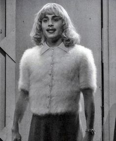 Johnny Depp as Ed Wood.   One of the funniest films ever made.   Johnny Depp is so good, as usual...
