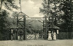Palisades Amusement Park, circa 1908 Palisades Amusement Park, Palisades Park, Cliffside Park, New York Photography, Bergen County, Vintage Theme, Hudson River, Most Visited, Back In The Day