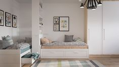 While every kid might want a room of their own, the reality is that sometimes it's just not feasible. In smaller homes for families that are growing, sharing a