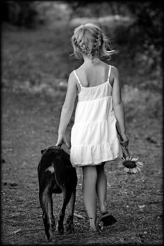 nothing quite like the relationship between a girl and her dog.