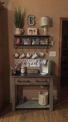 kitchen coffee bar ideas medium size of alluring coffee bar kitchen small ideas kitchen coffee bar. home Coffee Station DIY coffee bar ideas for small spaces. Coffee Nook, Coffee Bar Home, Home Coffee Stations, Coffee Coffee, Coffee Bars, Coffee Tables, Coffee Bar Ideas, Coffe Corner, Coffee Maker