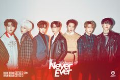 "Watch: GOT7 Reveals Striking First Look At ""Never Ever"" MV And New Group Photos 