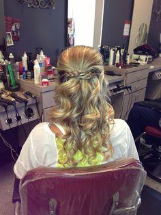 My wedding hair :)