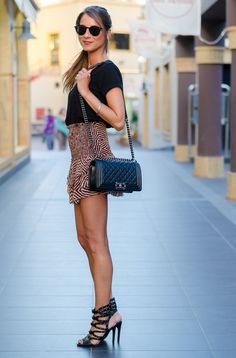 OUTFIT: ISABEL MARANT SILK SKIRT