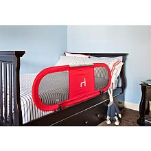 BabyHome Side Bed Rail Red