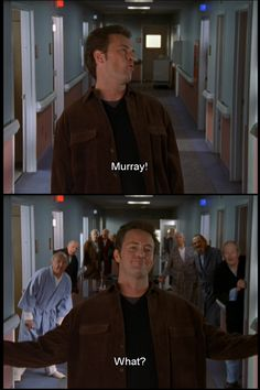 JD: So what's your problem with your dad? Murray: Well for starters, he named me Murray! JD: Oh come on, no it isn't. Scrubs Quotes, Scrubs Tv Shows, Old Man Names, Chandler Bing, Hooch, Love Actually, Nerd Humor, How I Met Your Mother, Old Love