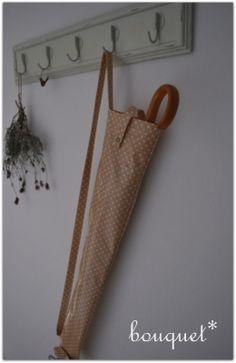 傘ケース - bouquet* Blog Entry, Burlap, Reusable Tote Bags, Denim, Sewing, Bags, Style, Dressmaking, Hessian Fabric