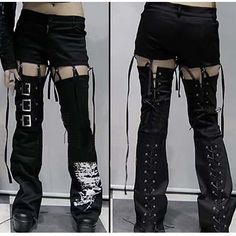 Unique Trendy Punk Gothic Clothing Skirts Pants Shorts Mens Womens