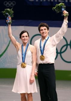2010 Olympic Ice Dancing Gold Medalist....Tessa Virtue  Scott Moir (CAD). Love them!