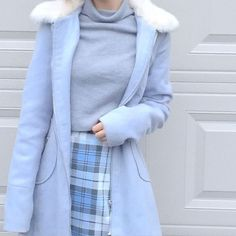 Blue all blue blue outfit blue fashion Korean fashion blue Korean fashion blue dress blue pants blue aesthetic ulzzang fashion Outfits For Teens, Casual Outfits, Girl Outfits, Cute Outfits, Fashion Outfits, Fashion Ideas, Fashion Inspiration, Fashion Tips, Modest Fashion
