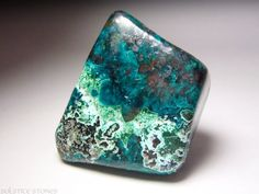 Tumbled Dioptase | Huge Polished Dioptase with Shattuckite and Plancheite. Heart Chakra ...