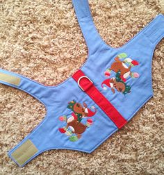Embroidered Prancing Christmas Pup XSmall Dog by CollarTopia, $15.00