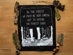 In The Forest ... backpatch by trashedy on Etsy