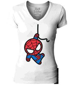 Spider-Man, Spider-Man, your neighborhood wall-crawler. Now in a Manga design. Super soft comfortable t-shirt in 100% cotton.