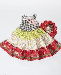 Sherwood Tiered Dress (PLATINUM) *size 2*