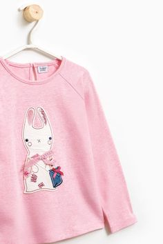 T-shirt cotone patch animaletto | OVS