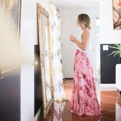 A beautiful sneak peek at an upcoming home tour with...