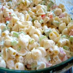 Creamy Southern Pasta Salad...a little left over Holiday ham added would be good also!