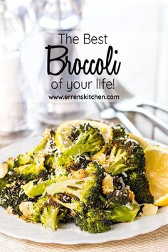 The Best Broccoli of Your Life! The Best Broccoli of Your Life! Joan Peterson Vegetables Roasted Fresh Broccoli with garlic lemon and Parmesan Cheese this […] broccoli Best Broccoli Recipe, Broccoli Recipes, Broccoli Salad, Cooking Fresh Broccoli, Italian Broccoli, Grilled Broccoli, Parmesan Broccoli, Veggie Recipes, Cauliflowers