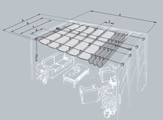 Retractable awning tutorial.  Not in English, but the picture is pretty clear.