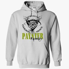 PAYNTER Family - Strength Courage Grace, Order Here ==> https://www.sunfrog.com/Names/PAYNTER-Family--Strength-Courage-Grace-fafwuicbey-White-50183416-Hoodie.html?9410 #birthdaygifts #xmasgifts #christmasgifts
