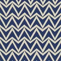 SCION Wallpaper 'Dhurrie' in indigo