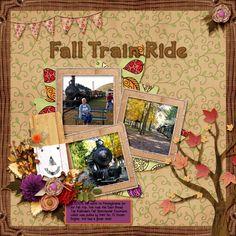 Last additions - Fall Train Ride - ScrapBird Gallery