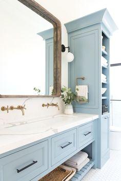 150 Blue Bathroom Ideas In 2021 Blue Bathroom Bathrooms Remodel Bathroom Design