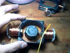Handmade Brushless DC Motor 2 Magnet - YouTube