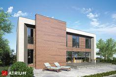 NEW BOX – zwolenników nowoczesnej architektury z pewnością zainteresuje kubiczny w formie projekt New Box. Bryłę cechuje oszczędne zastosowanie detalu a duże płaskie powierzchnie są zaakcentowane głównie przez zróżnicowaną kolorystykę.