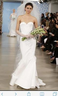 Oscar de la Renta Addison wedding dress
