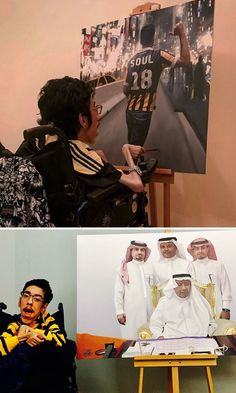 Rakan Abdulaziz Kurdi Proves That Disability Is Not A Limit By Creating These Realistic Paintings Stephen Wiltshire, What Is Excellence, World Population, Realistic Paintings, Disability, Kurdistan, Tattoo Artists, Impressionist Art, Lucha Libre