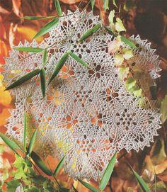 Doily Placemat PDF Crochet Pattern . Round Doiley . Mandala . Table Centre Mat . Instant Digital Download by PDFKnittingCrochet on Etsy