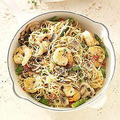 Shrimp Pasta Primavera Recipe from our friends at Sam's Club