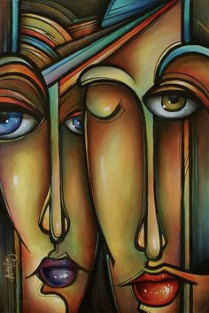 Art Deco Artists | ... Painting by Michael Lang - Click Fine Art Prints and Posters for Sale