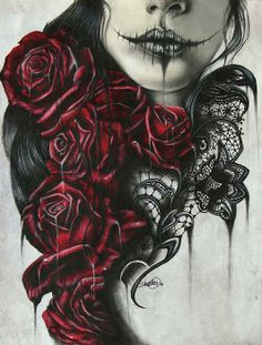 goth pin up drawings - Google Search