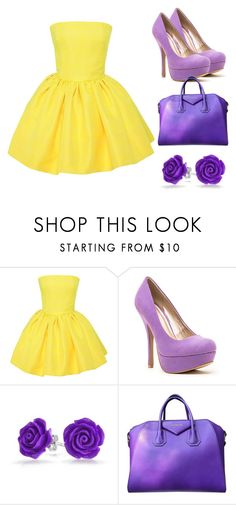 """complementary"" by lauren-friedman1632 on Polyvore featuring Martin Grant, Qupid, Bling Jewelry, Givenchy, women's clothing, women, female, woman, misses and juniors"